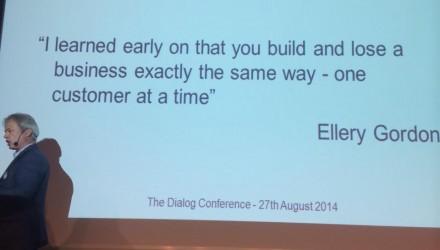 Dialogkonferansen 2014, Ellery Gordon