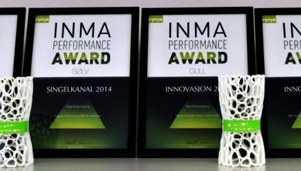 RED Performance, mestvinnende byrå i INMA Performance Awards